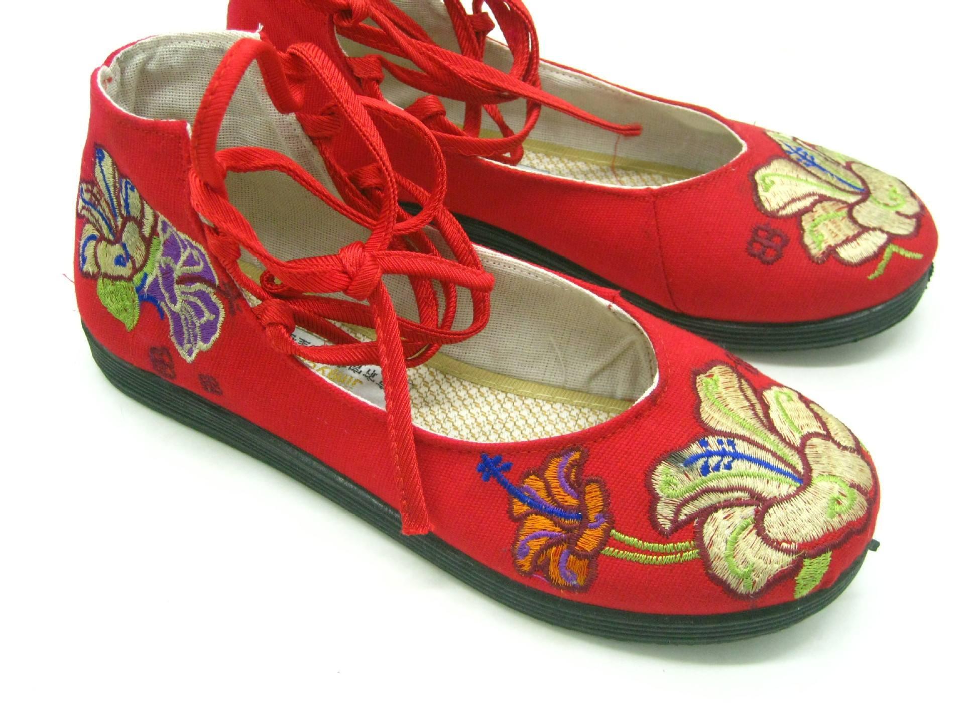 布鞋刺绣定做加工